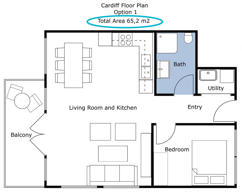 Overview of measurements on floor plans web for Blueprint of a house with measurements