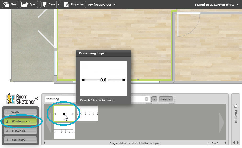 Display Inside Wall Measurements On Floor Plans Web