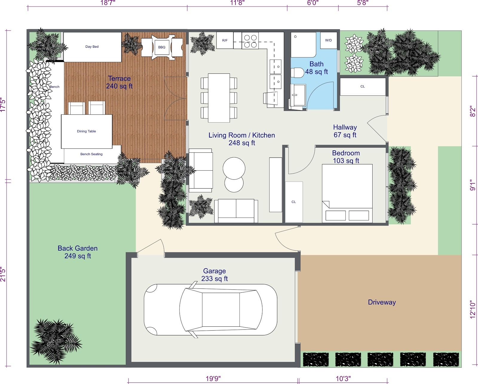 Create a 2d site plan web roomsketcher help center for Plan en 2d