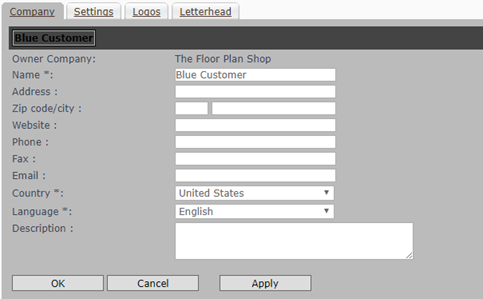Add Customers and Floor Plan Profiles to a RoomSketcher