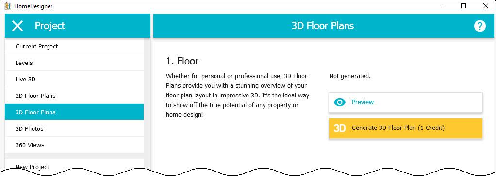Generate 2d and 3d floor plans app roomsketcher help for 3d floor plan app