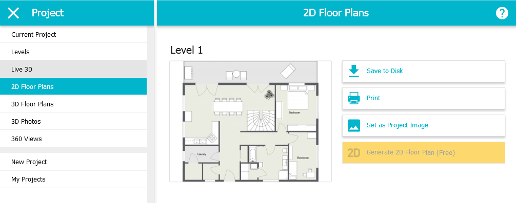 Save and Print Your Floor Plans (App) – RoomSketcher Help Center