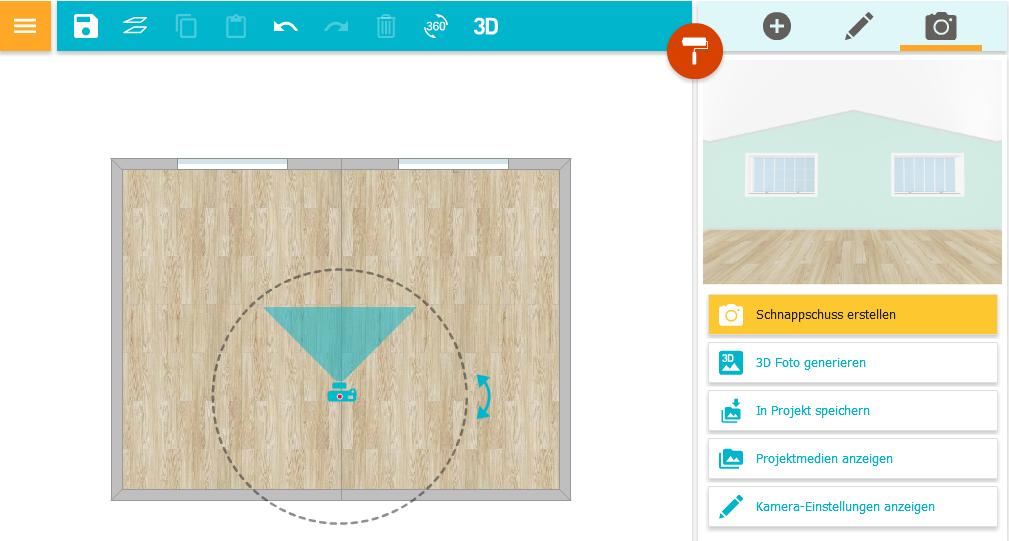 Dachschrägen zeichnen (App) – RoomSketcher Hilfe