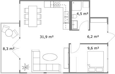 Display The Area Of A Room On Floor Plans (App)