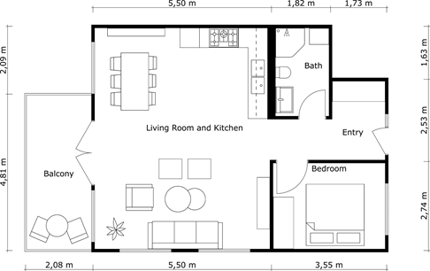There Are Several Ways To Add Outside Measurements To 2D Floor Plans In The  RoomSketcher App. The Steps In This Article Will Add Outside Measurements  That ...