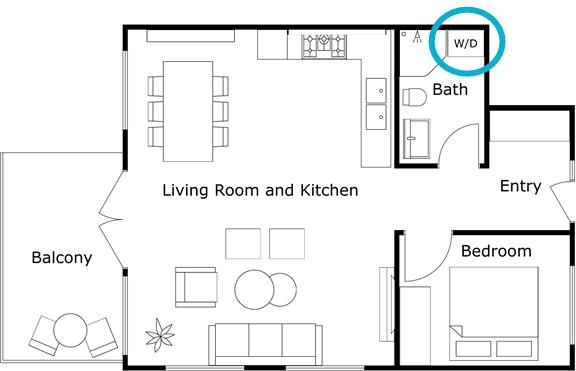 Add labels on furniture app roomsketcher help center for 3d floor plan app