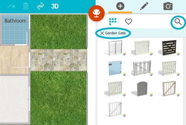Add A Garden Gate App Roomsketcher Help Center