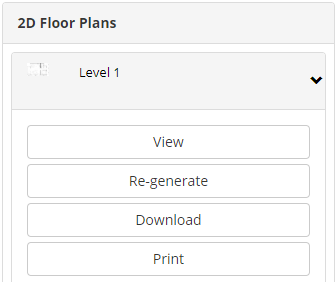 Generate and Print 2D and 3D Floor Plans (Web Account