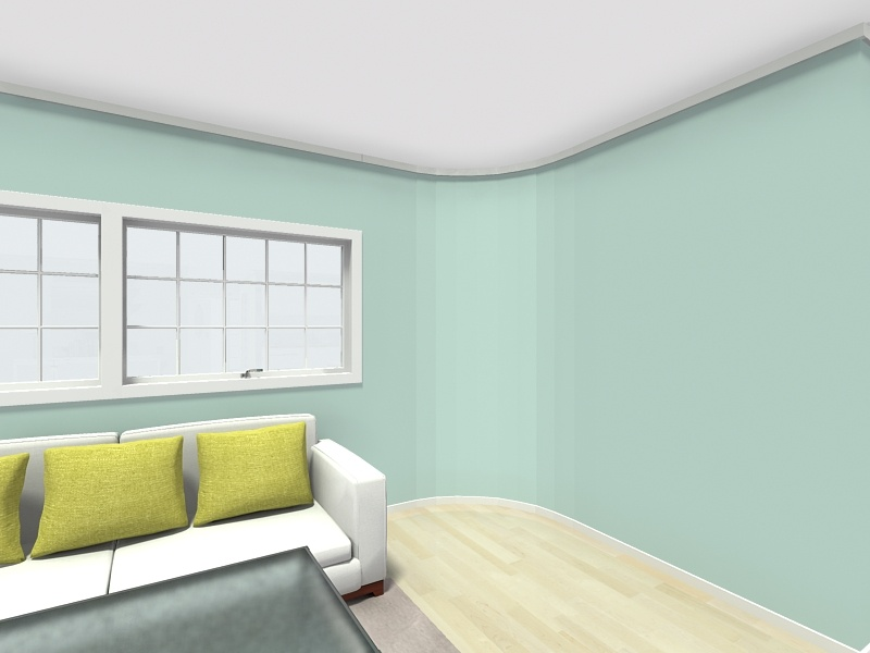 Draw Curved Walls Round Web