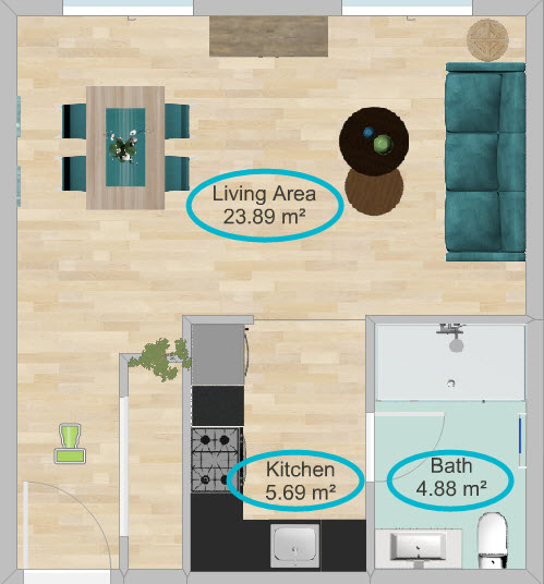 Overview Of Measurements On Floor Plans Web Roomsketcher Help Center