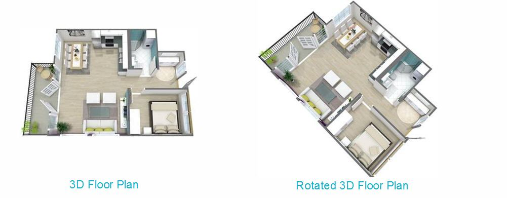 Tip: If You Want To See Your Floor Plan Rotate In Live 3D From Above, See  This Article: Live 3D Floor Plans.