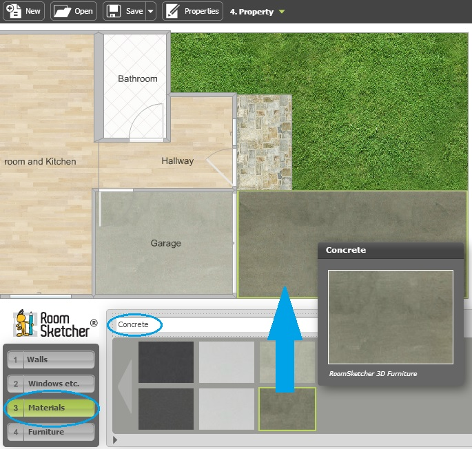 Draw A Yard Garden Or Outdoor Area Web Roomsketcher