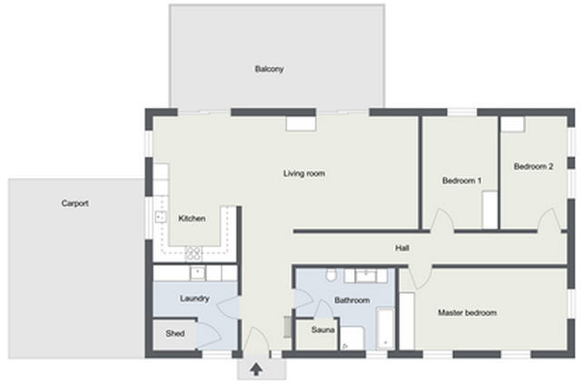 2d Floor Plans Customize Your Floor Plans Roomsketcher