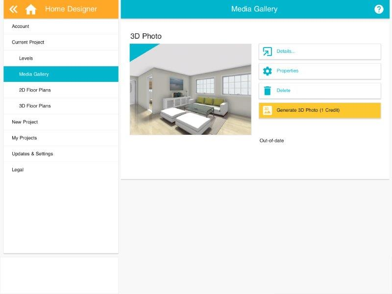 Take Snapshots and Create 3D Photos (App) – RoomSketcher ...