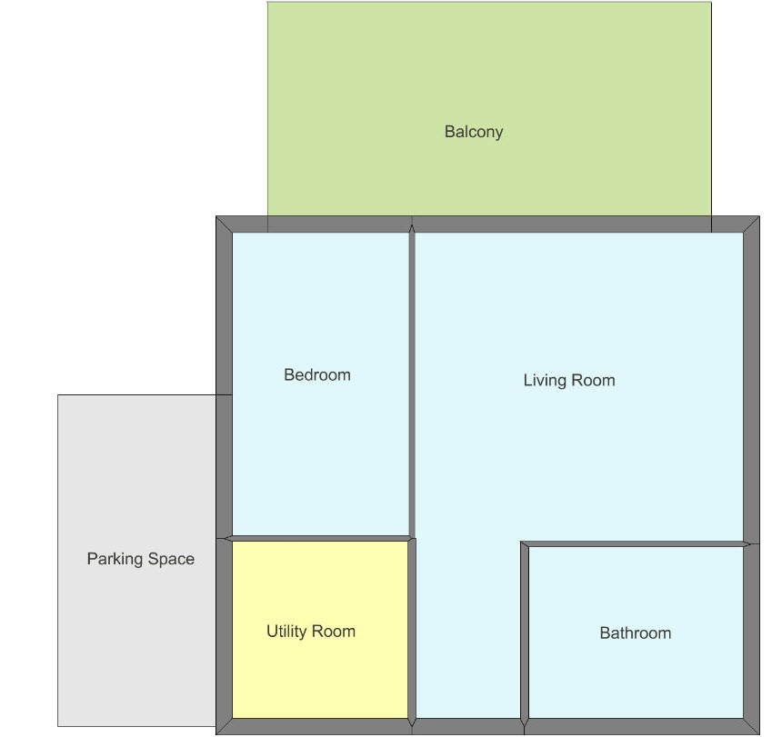 Calculate the total area of a floor plan web for Area of a floor plan