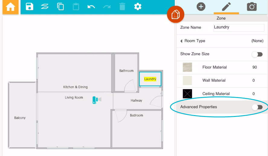 Calculate The Total Area Of A Floor Plan App